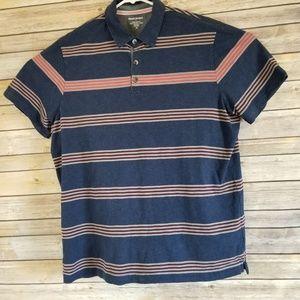 Banana Republic Polo Golf Shirt Mens Size XL Blue
